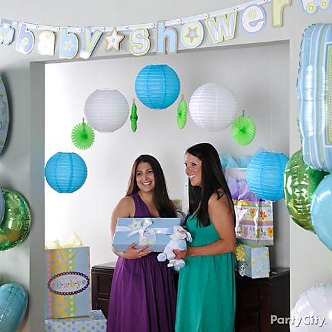 Baby boy shower decorations best baby decoration for Baby shower party hall decoration ideas
