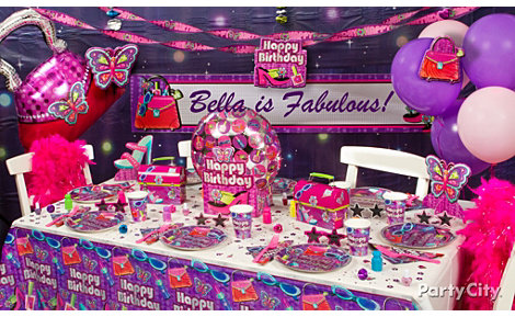 Glitzy Girl Party Ideas Guide - Party City