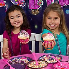 Glitzy Girl Party Food Ideas
