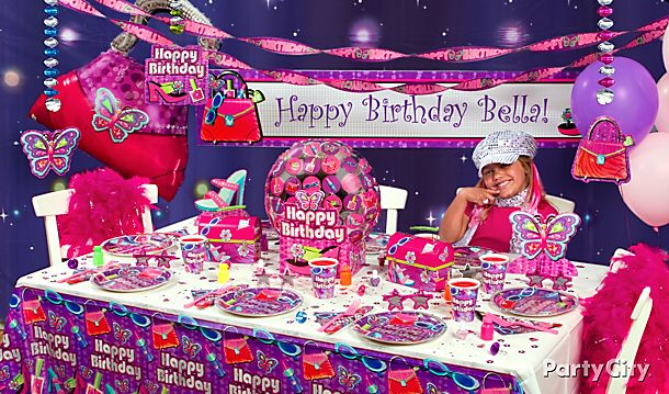 Glitzy Girl Party Ideas!