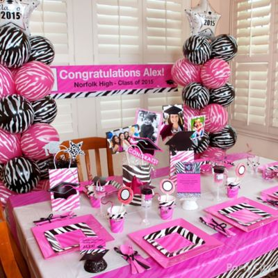 Red and Black Graduation Party Ideas