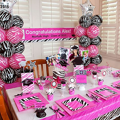 2015 graduation tableware 2017 2018 best cars reviews for Animal print decoration party