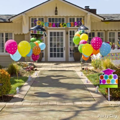Colorful High School Graduation Party Ideas - Party City