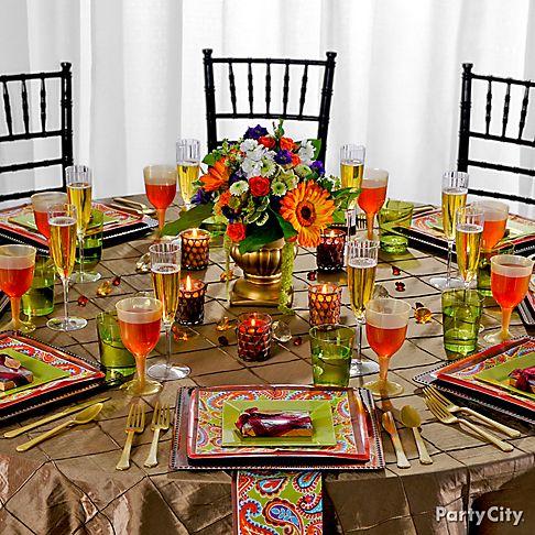 Luxurious Yet Affordable Fall Wedding Reception Ideas