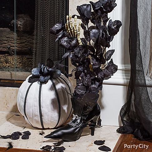 Black Amp Bone Halloween Cocktail Party Ideas Party City