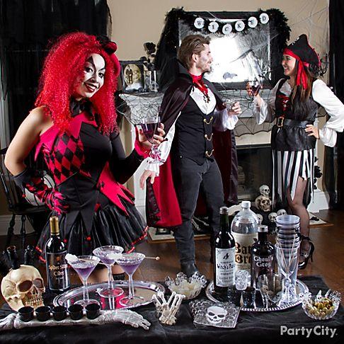 Frightfully fun halloween party ideas for adults party city for Funny party themes for adults
