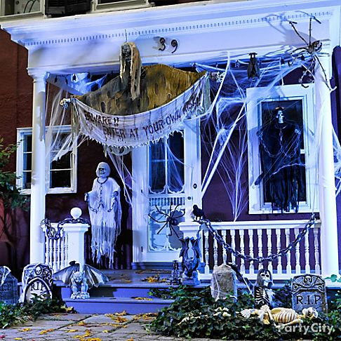 Halloween Decorating Ideas Gallery   Party City