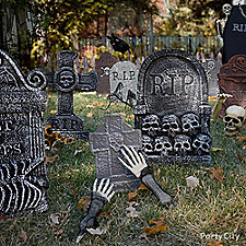 Spooky Cemetery Decorating Ideas