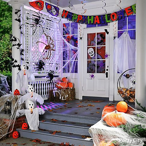 not so scary kids halloween party ideas party city. Black Bedroom Furniture Sets. Home Design Ideas