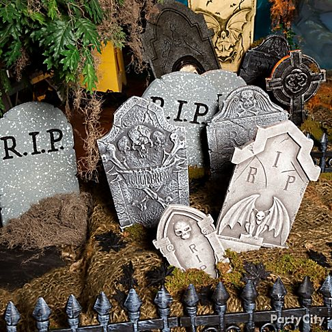 Haunted House Entrance Ideas  Party City - Party City Halloween Decorations