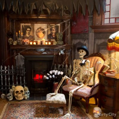 chilling haunted house decorating ideas city