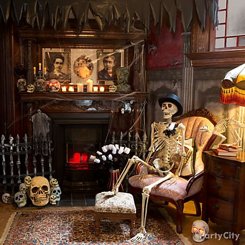 Chilling Haunted House Decorating Ideas Party City