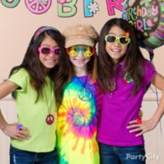 Hippie Chick Birthday Party Ideas - Party City
