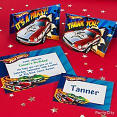 Hot Wheels Party Invitation Ideas