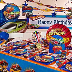 Hot Wheels Party Decoration Ideas
