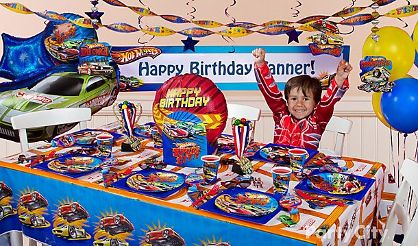 Hot Wheels Party Ideas!