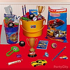 Hot Wheels Party Favor Ideas