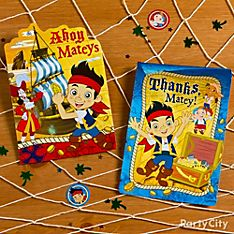 Jake and the Never Land Pirates Invitation Ideas