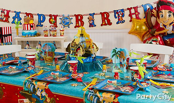 Jake and the Never Land Pirates Party Ideas!