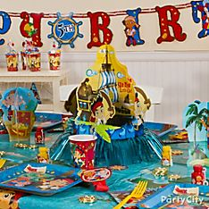 Jake and the Never Land Pirates Decoration Ideas