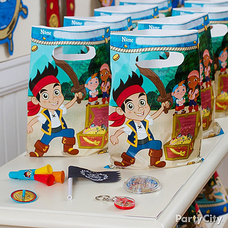 Jake and the Never Land Pirates Ideas: Favors
