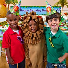 Jungle Animals Party Dress-Up Ideas