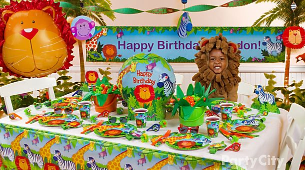 Jungle Animals <br /> Party Ideas!