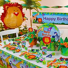 Jungle Animals Party Decoration Ideas