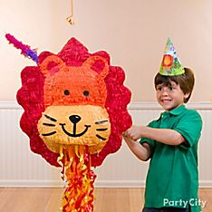 Jungle Animals Party Game & Activity Ideas