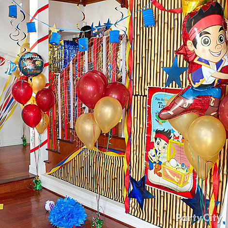 Jake and the Never Land Pirates Ideas: Decorations