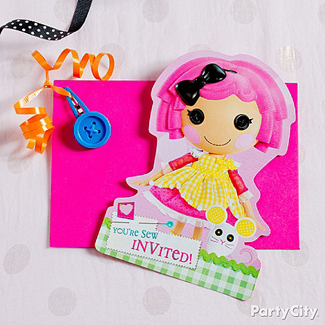 Lalaloopsy Party Ideas: Invitations