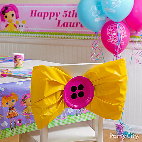 Lalaloopsy Party Ideas: Decorating - Click to View Larger