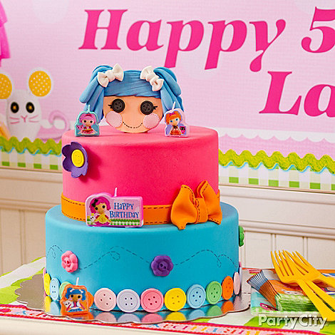 Lalaloopsy Party Ideas: Food