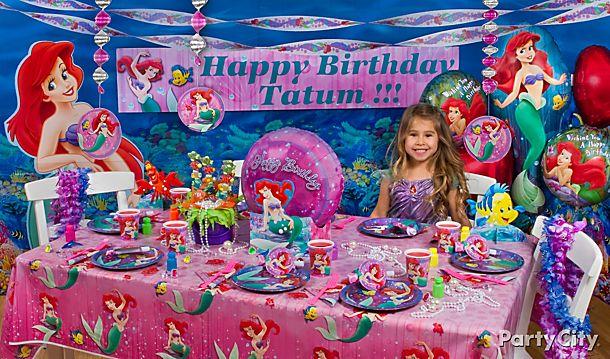 Little Mermaid <br /> Party Ideas!