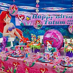 Little Mermaid Party Decoration Ideas