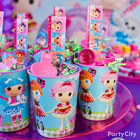 Lalaloopsy Party Ideas: Favors - Click to View Larger