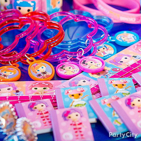 Lalaloopsy Party Ideas: Favors