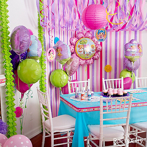 Colorful Party Decorations Solid-color Decorations in