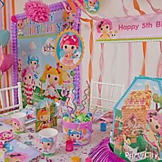 Lalaloopsy Party Decoration Ideas