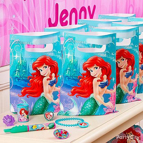 Little Mermaid Party Ideas: Favors