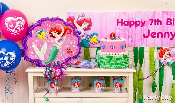 Little Mermaid Party Ideas