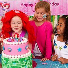 Little Mermaid Cake & Cupcake Ideas