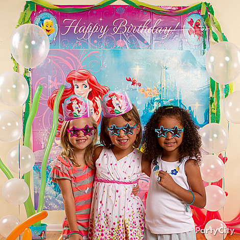 Little Mermaid Party Ideas: Dress Up