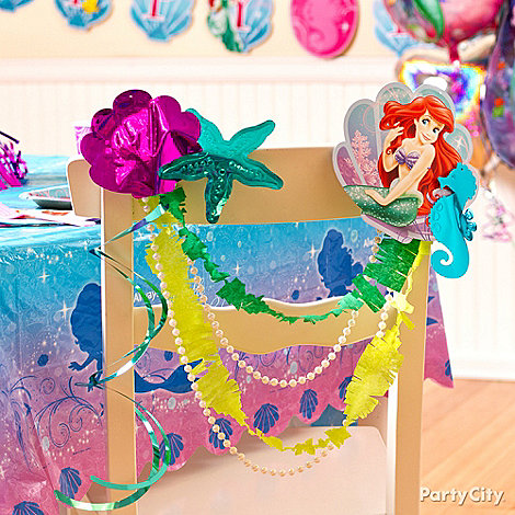 Little Mermaid Party Ideas: Decorations