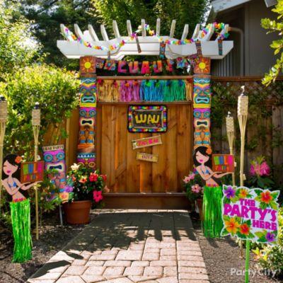 10 Totally Tiki Luau Party Ideas   Party City