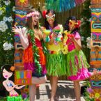 Luau Party Photo Booth Ideas