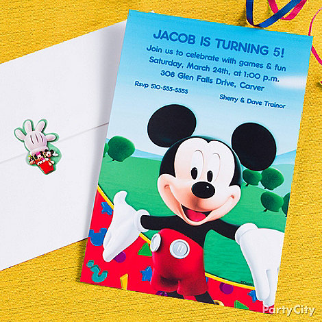 mickey mouse birthday party ideas - party city,