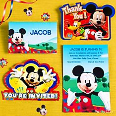 Mickey Mouse Party Invitation Ideas