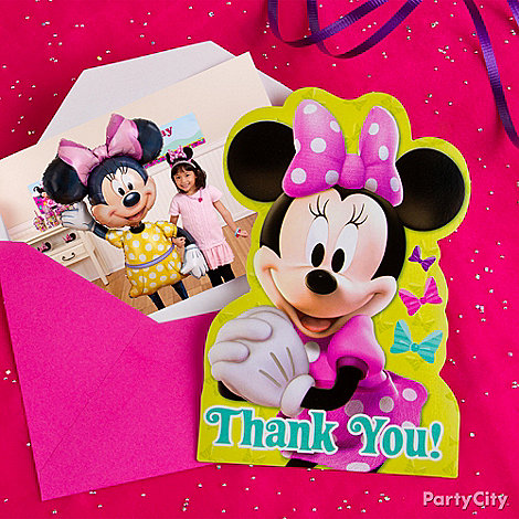 Minnie Mouse Party Ideas: Invitations