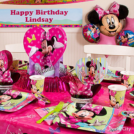 Minnie Mouse Party Ideas: Decorating